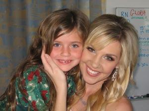 Olivia and Barbie!!!