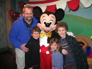 A visit with Mickey