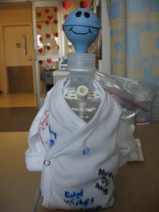Nurse Filma's trach suction dummy