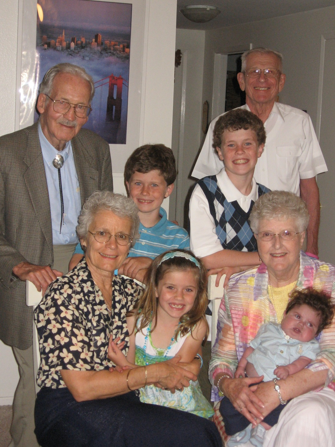 Special time with Oma & Opa and G'ma & G'pa