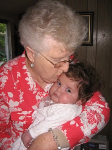 Kisses from G'ma Jo