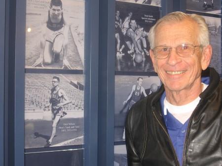 KU Hall of Famer and NCAA Champ :-)