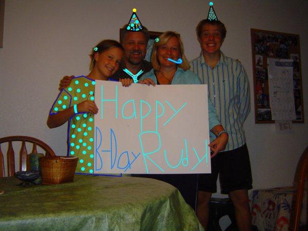 The Van Clan partying in Pine Valley!