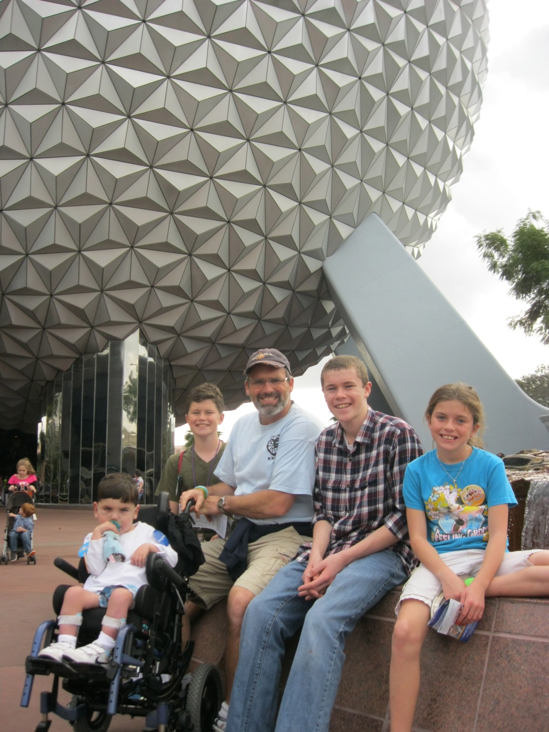Then, it's off to Epcot!