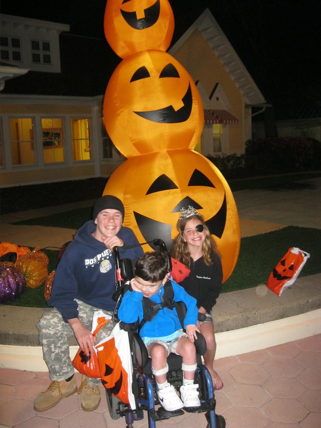 Some Halloween fun in the p.m.