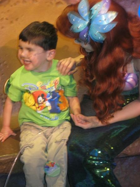 ...Ariel...(Rudy liked Ariel a lot)...