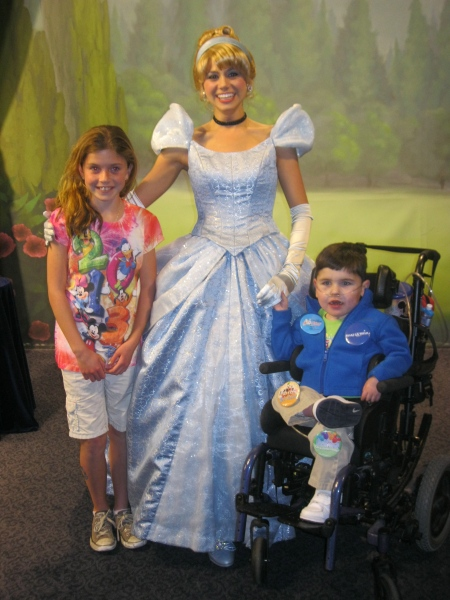 ...and Cinderella!  Check out Rudy holding Cindy's hand!