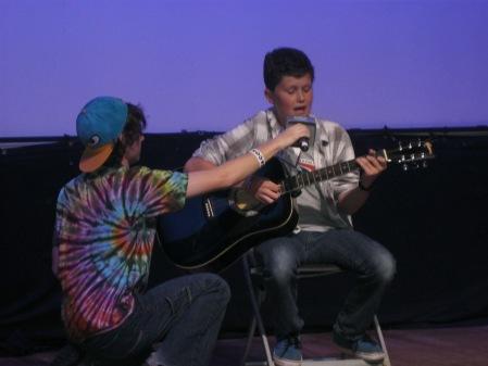 ...Max sang a Lumineers song.