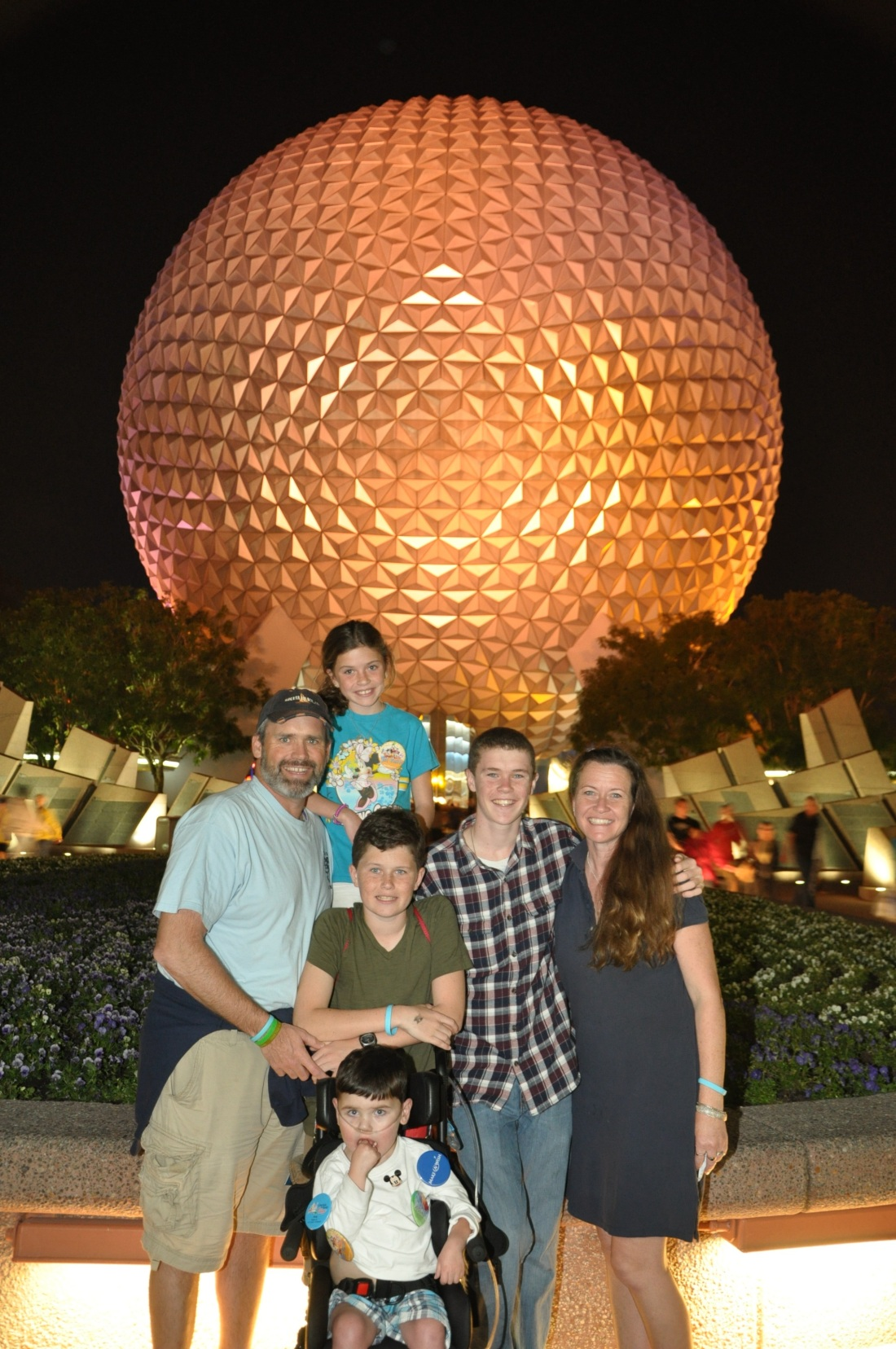 Epcot, of course.