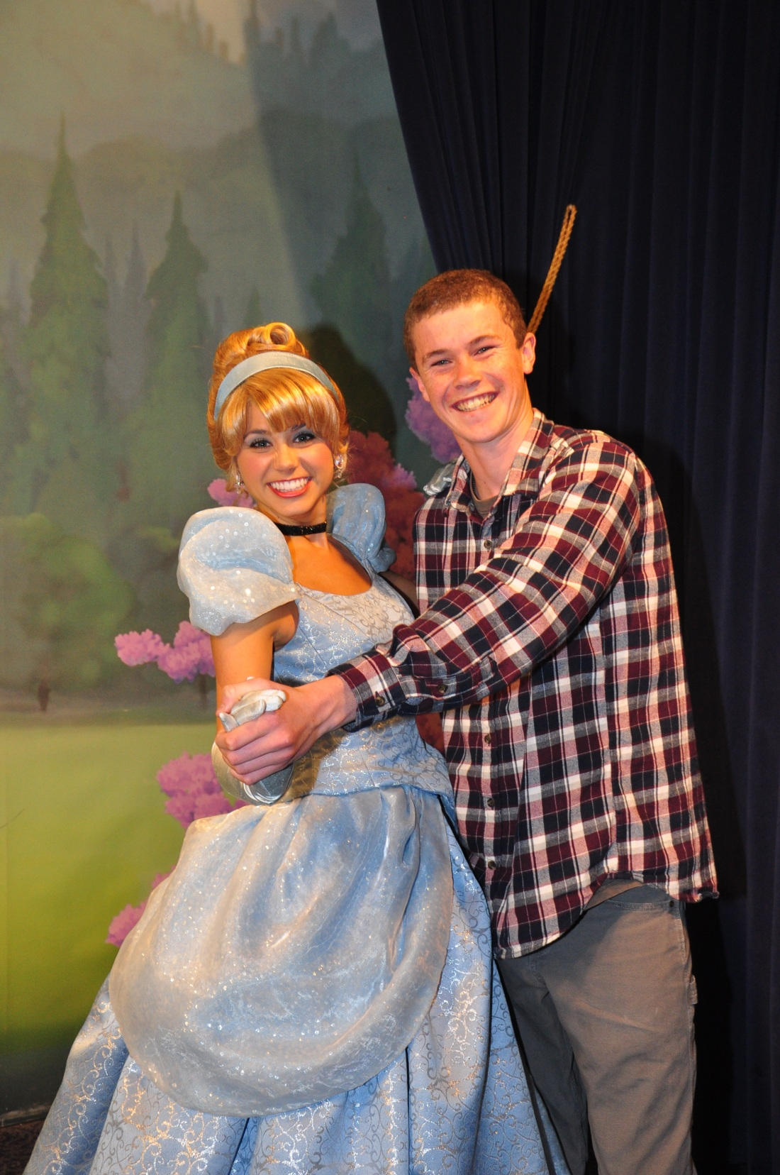 A dance with Cinderella!
