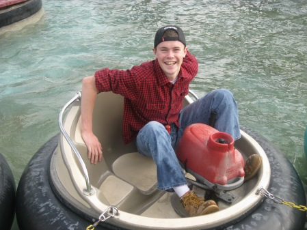 ...bumper boats...