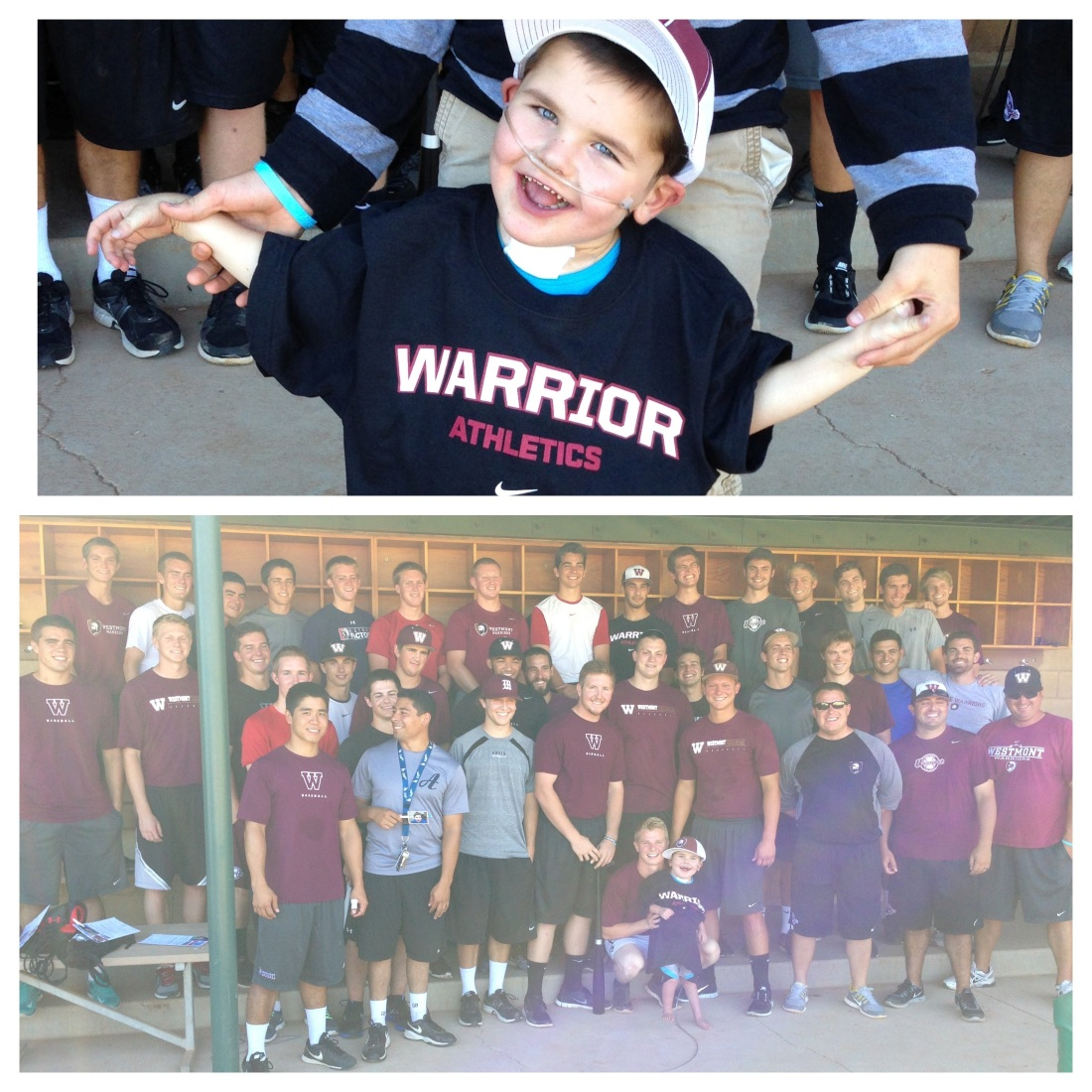 Rudy and the Westmont Warriors!