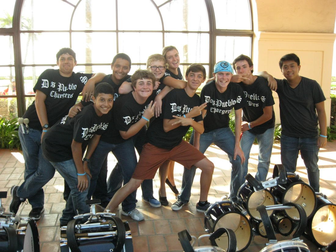 The rocking DPHS drum line!!