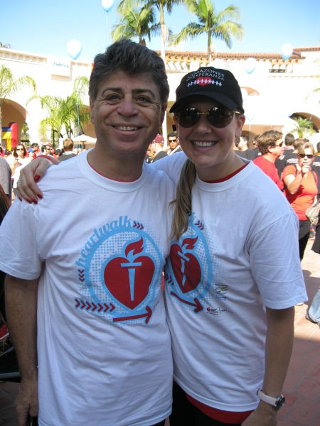 Rudy's cardiologist and his wife are big supporters of the Heart Walk!  Yay Dr. and Dana Harake!!
