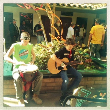SBRM Thanksgiving Feast entertainment by Max and Wil!