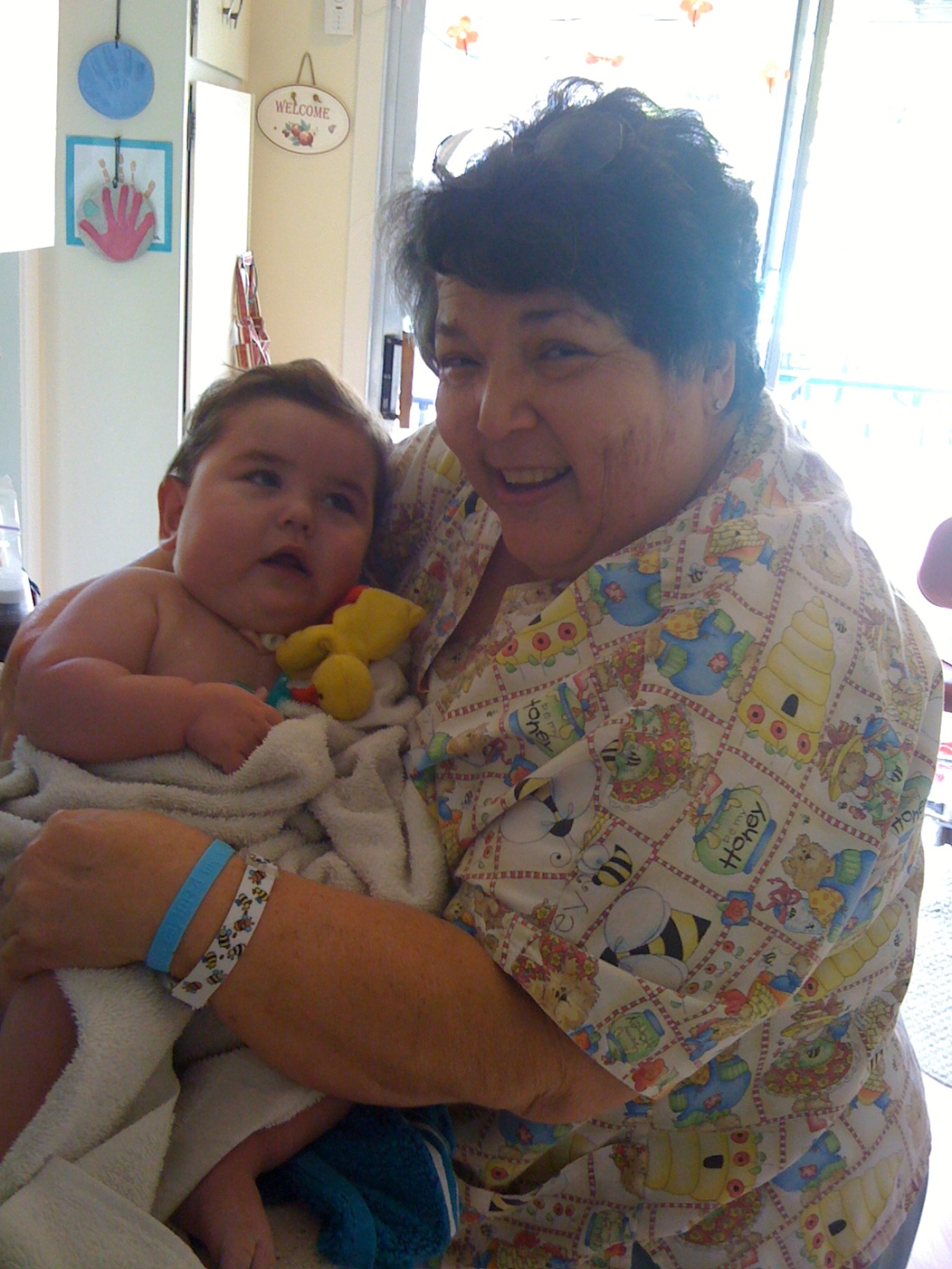 Nurse Dodi and Rudy in 2009