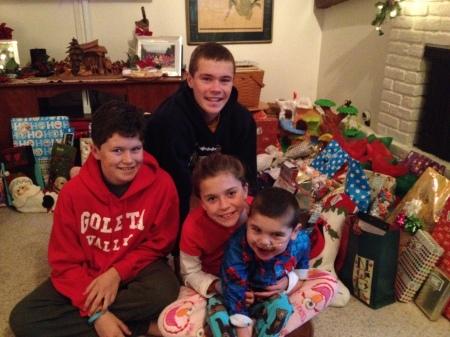 Christmas morning 2013!