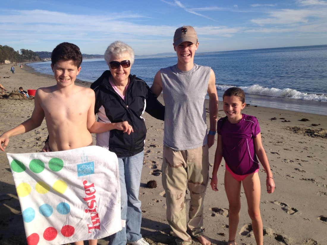a little post-Christmas trip to the beach…ending 2013 with temps in the mid-70s…just sayin'.