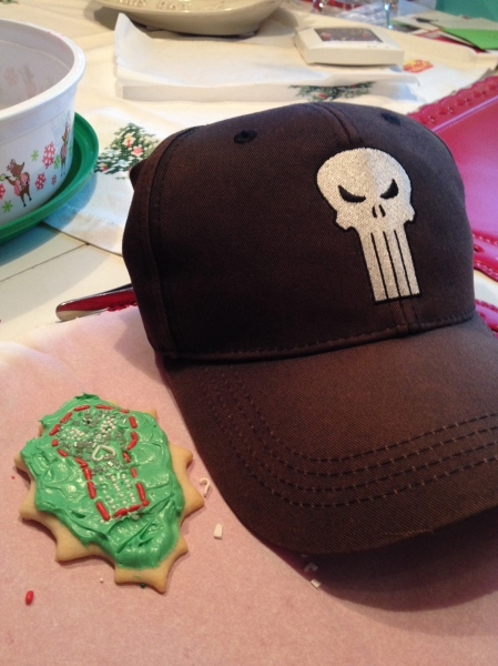 Punisher Christmas Cookie??????