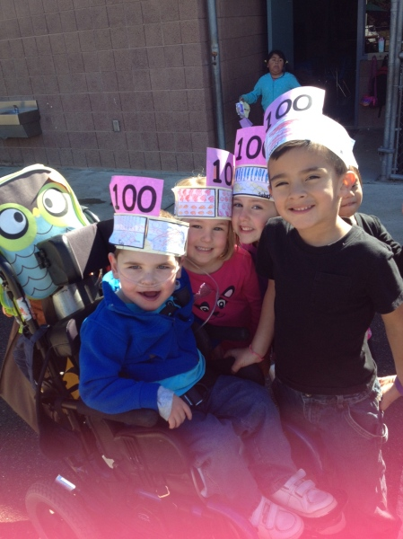 February 3, 2014 - 100 Days of School
