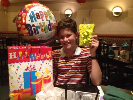 Happy Birthday Maxo!  3-10-14