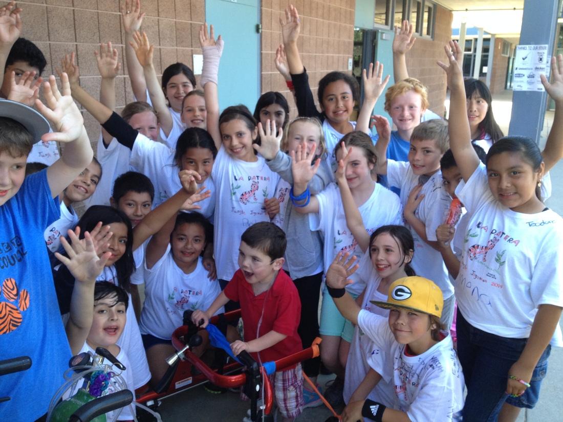 Miss Grant's 5th grade class ROCKS!