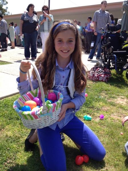 Olivia's stash!