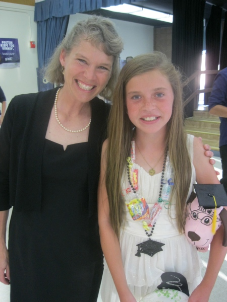 Olivia and Mrs. Sweeney