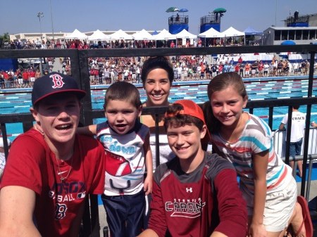 While we were down south, we had the joy of watching Maya  compete at the National Championships…Maya advanced to the finals during the morning prelims...