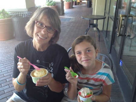 …and squeezed in a sweet treat with Marit!