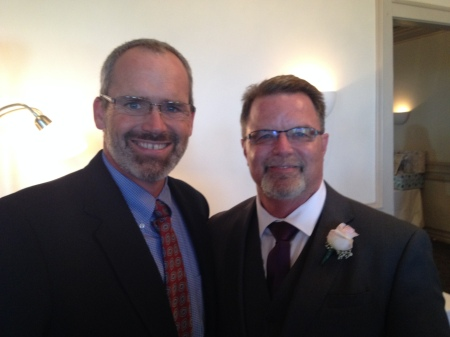 Proud father of the bride Bob!