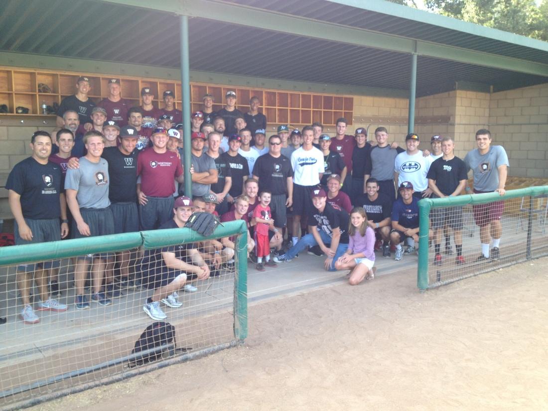 Westmont Baseball Team 2014-15