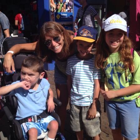 We also ran into a few of Rudy's Rock Stars like UCLA's Dr. Nina Shapiro...