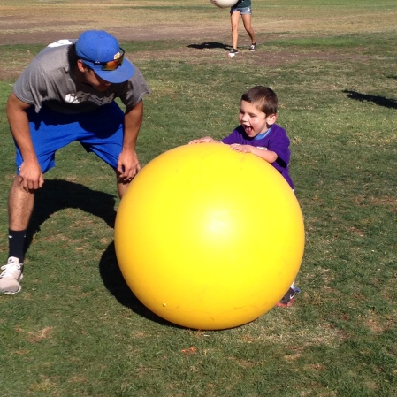 But the BIG BALLS were definitely Rudy's favorite!