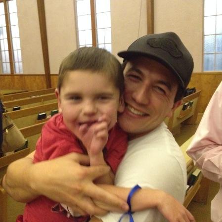 Rudy and Moriah's Dad Justin