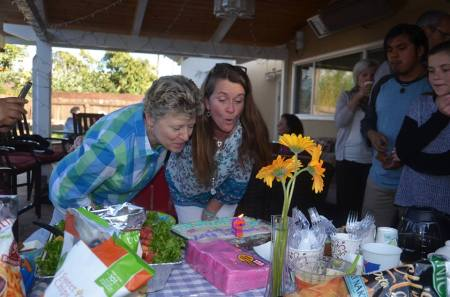 Got to celebrate it again with dear, longtime friends we hosted for Susie's retirement party!!  Woo Hoo