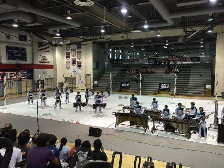 Wilson's final HS drum line competition!