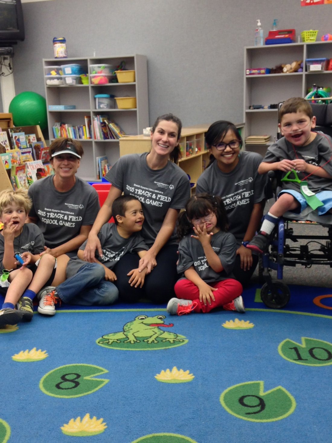 Rudy's class!  Way to go K-1 Cougars!!!