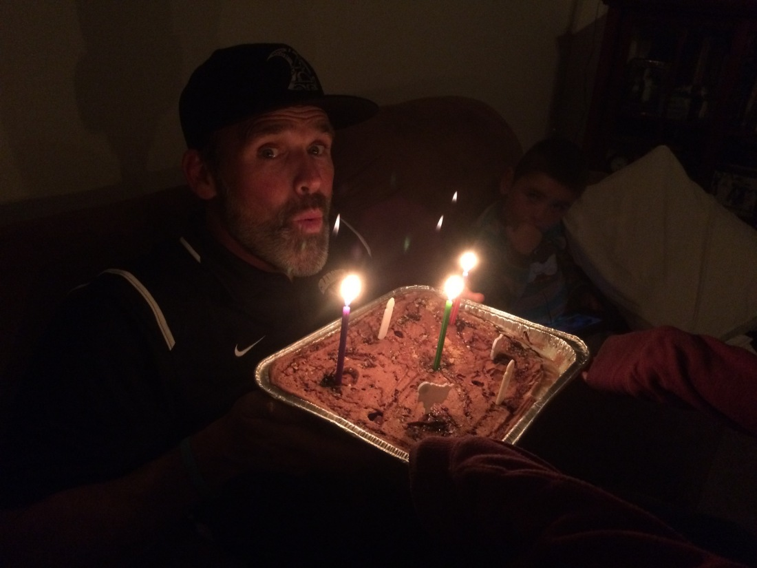 We made it home from Max's lacrosse banquet last night with time left to celebrate Rolf's birthday!  We may have had to squeeze in a celebration (with a homemade ice cream cake) but we're all keenly aware EVERY DAY that our life wouldn't be quite as much fun without this man in it!!!  Happy Happy Birthday Big Guy!