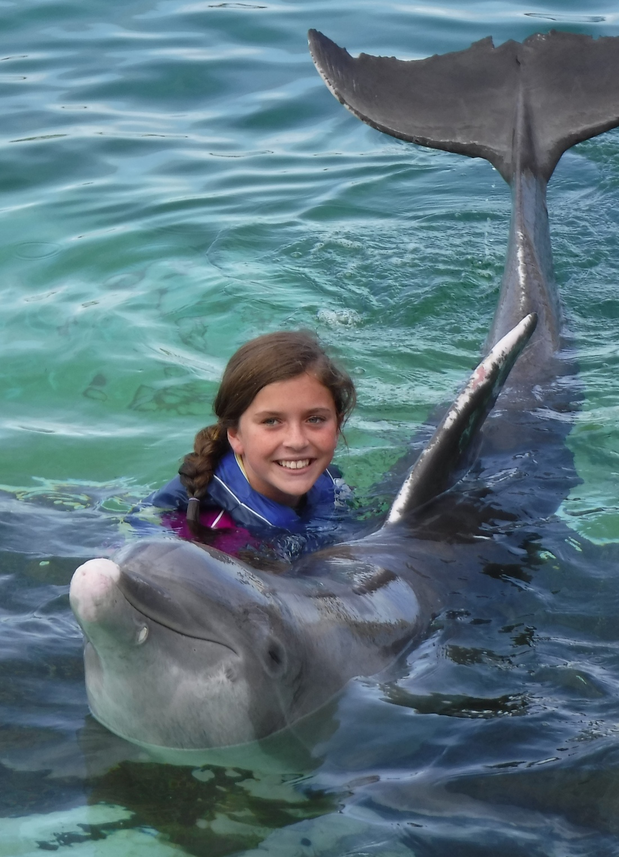 Bucket List Dolphin Swim?  Check!