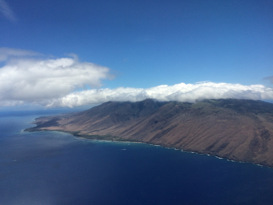Day 4 - Our flight over to Maui.