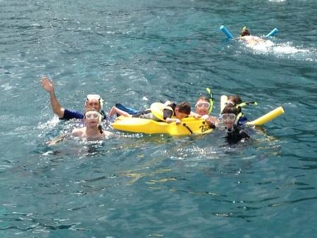 Woo Hoo!!  Family snorkel pic!