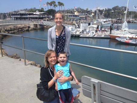 Fun at the harbor!
