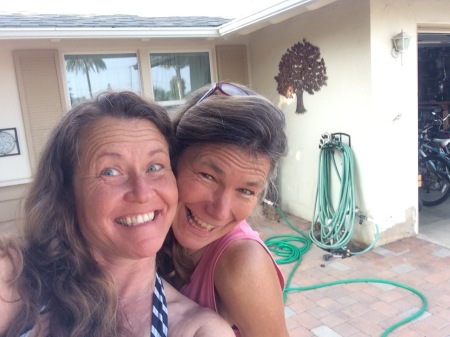 Sis-in-law selfie!